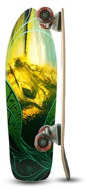 Gravity SkateBoard - Hair Barrel 27 Inch Mini Classic