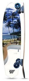 Gravity SkateBoards - On Da Beach 37 Inch Diamond Tail Longboard