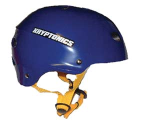 Kryptonics Blue Helmet