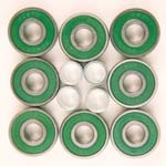 Longboard Bearings - Abec 7